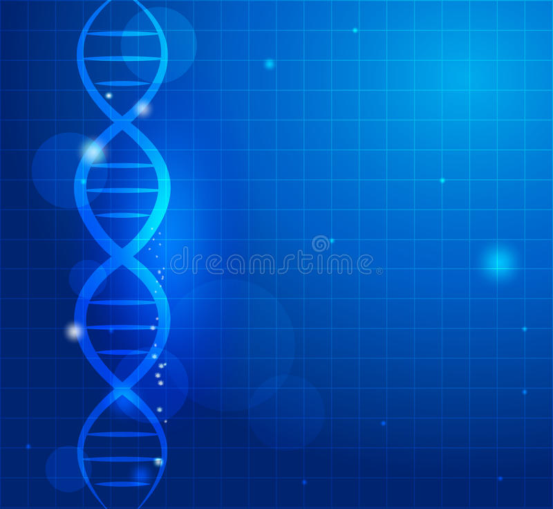 Abstract Gene Chain Stock Photography