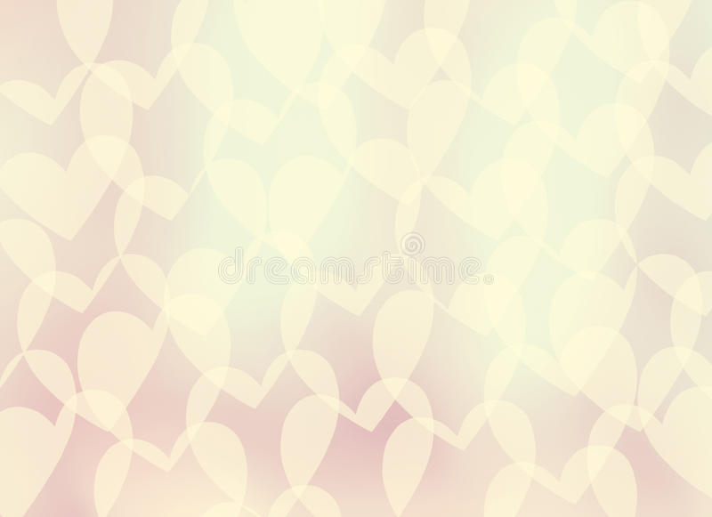 Download Abstract Gentle Romantic Background-heart Stock Illustration - Image: 29486404
