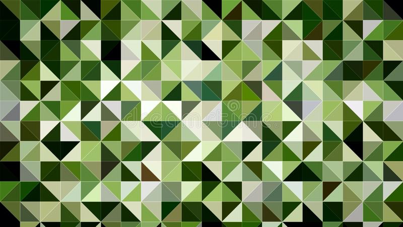 Abstract Green Black White Color Pattern Background