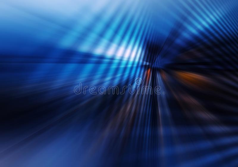 Abstract geometric background with crossing lined planes imitating tunnel vector illustration