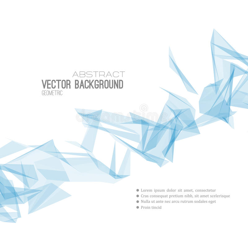 Abstract Geometric Background Design vector illustration