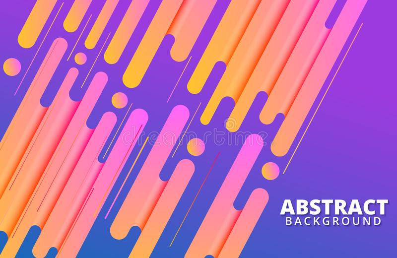 Abstract geometric background. Dynamic shapes composition. Background template for banner, web, landing page, cover, promotion, print, poster, greeting card vector illustration