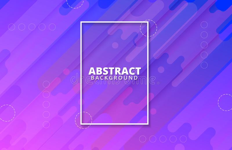 Abstract geometric background. Dynamic shapes composition. Background template. For banner, web, landing page, cover, promotion, print, poster, greeting card vector illustration