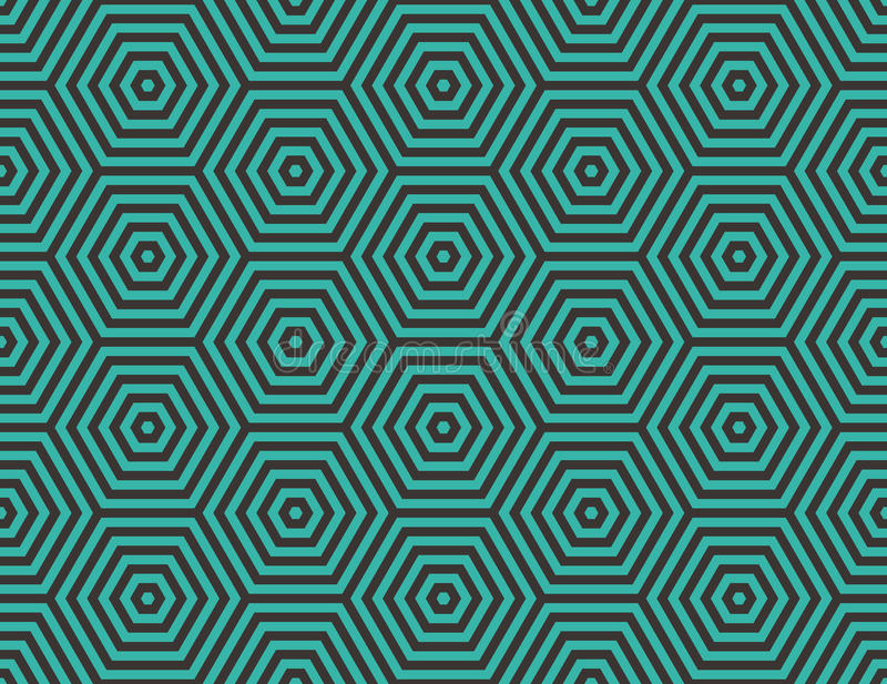 Download Abstract Geometric Background Embedded Hexagons Stock Vector Image