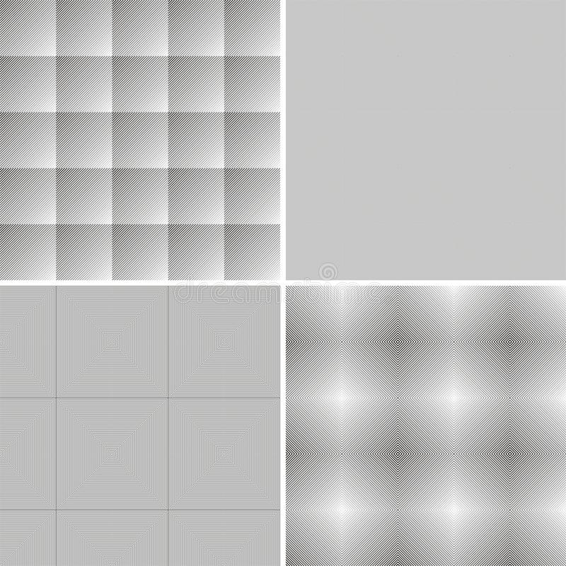Abstract geometric background, gray and white vector illustration