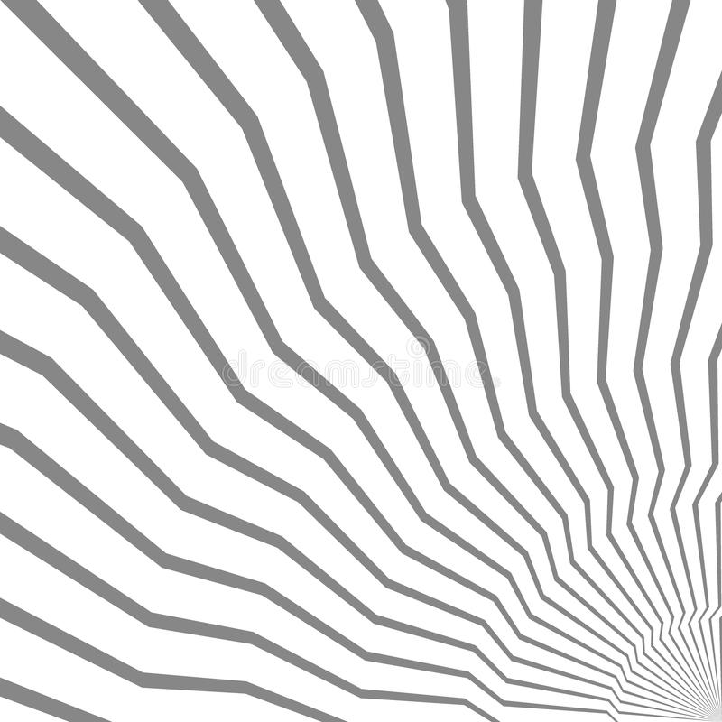 Abstract geometric background of lines. Spiral effect. Modern st. Ylish texture. Good design stock illustration