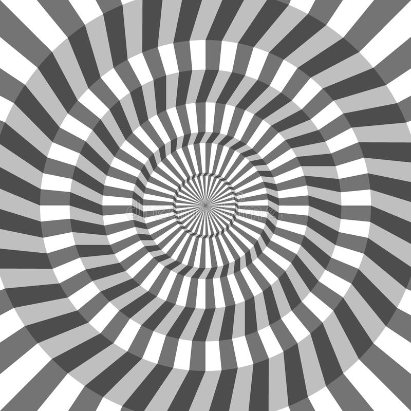 Abstract geometric background of lines. Spiral effect. Modern st. Ylish texture. Good design vector illustration