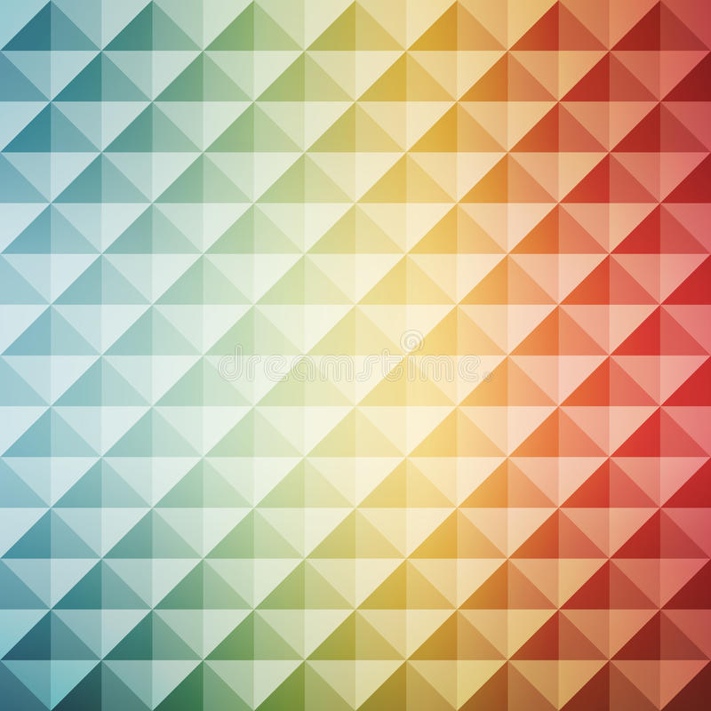 Abstract geometric background. Mosaic. Vector royalty free illustration
