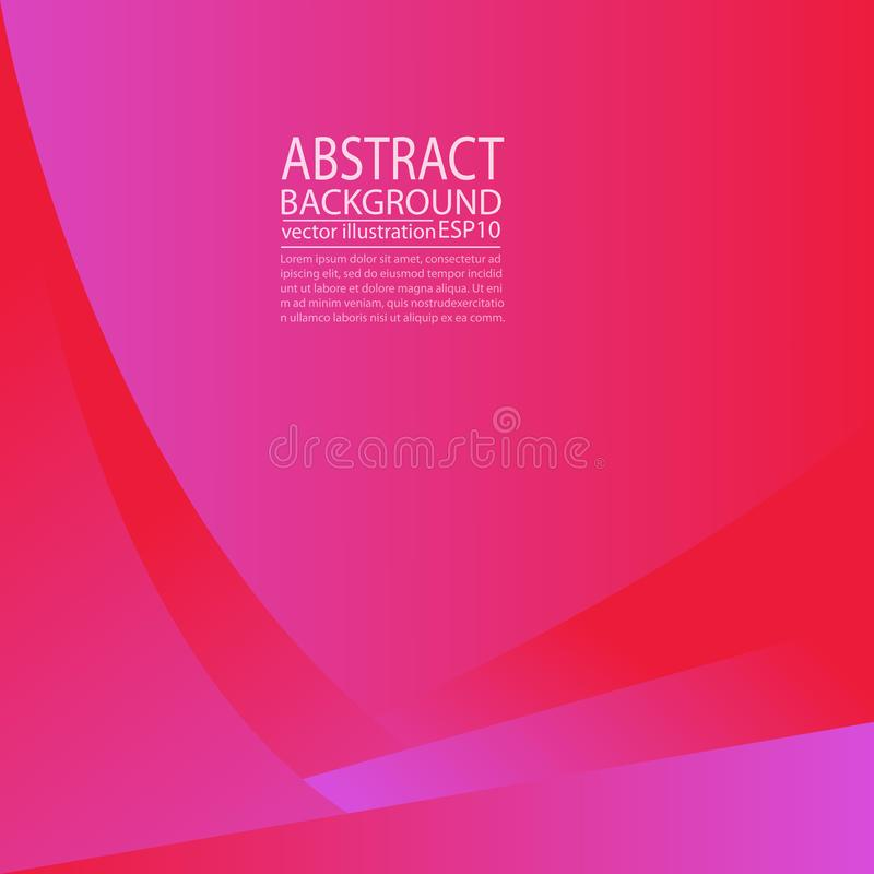 Abstract geometric background pink and red of lines and stripes for screen saver, banner, article, post, texture, pattern ... Abstract geometric background pink royalty free illustration