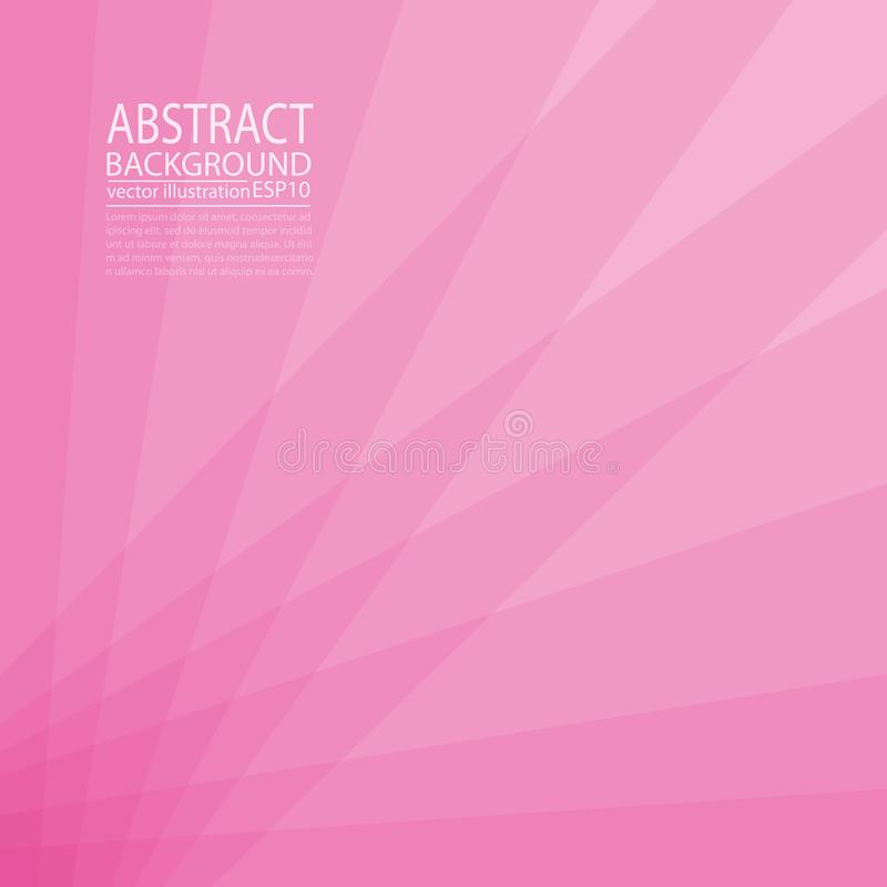 Abstract geometric background pink and red of lines and stripes for screen saver, banner, article, post, texture, pattern ... Abstract geometric background pink vector illustration
