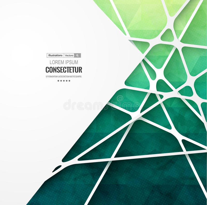 abstract geometric background with polygons info graphics