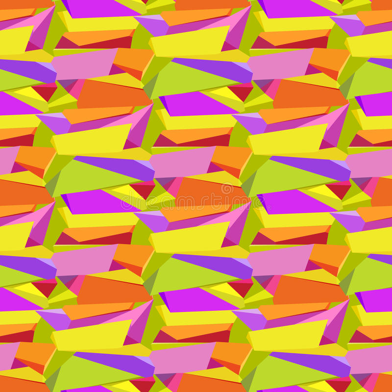 Abstract geometric background. royalty free illustration