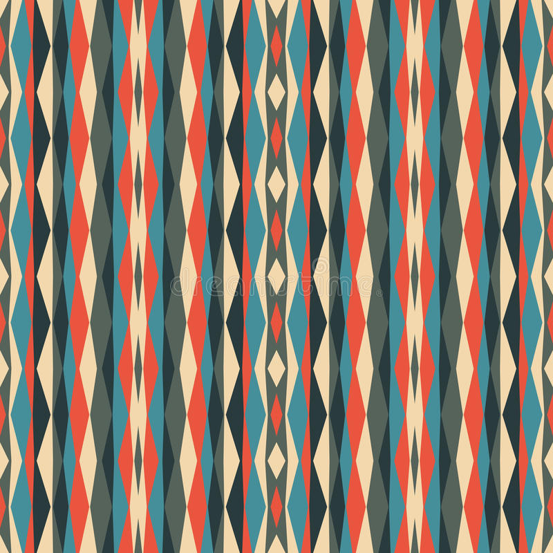 Abstract geometric background. Seamless vector pattern. Ornament illustration with vertical stripes vector illustration