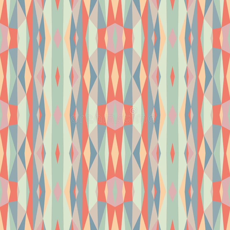 Abstract geometric background. Seamless vector pattern. Ornament illustration with vertical stripes.  vector illustration