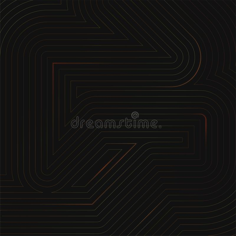 Abstract geometric background from shiny lines stock photos