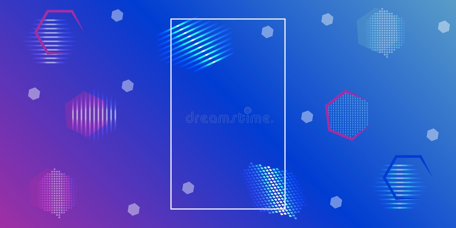 Abstract geometric background. Vector shapes hexagon design. Abstract geometric background. Vector shapes n hexagon design vector illustration