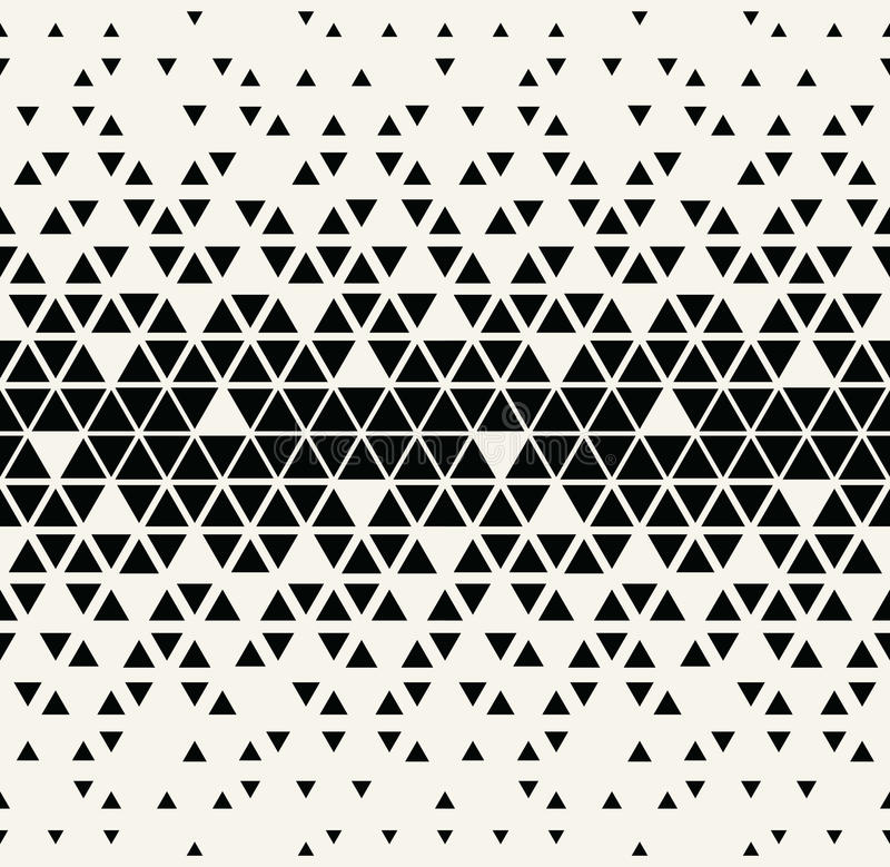 Free Abstract Geometric Black And White Graphic Design Triangle Halftone Pattern Stock Photo - 82400310