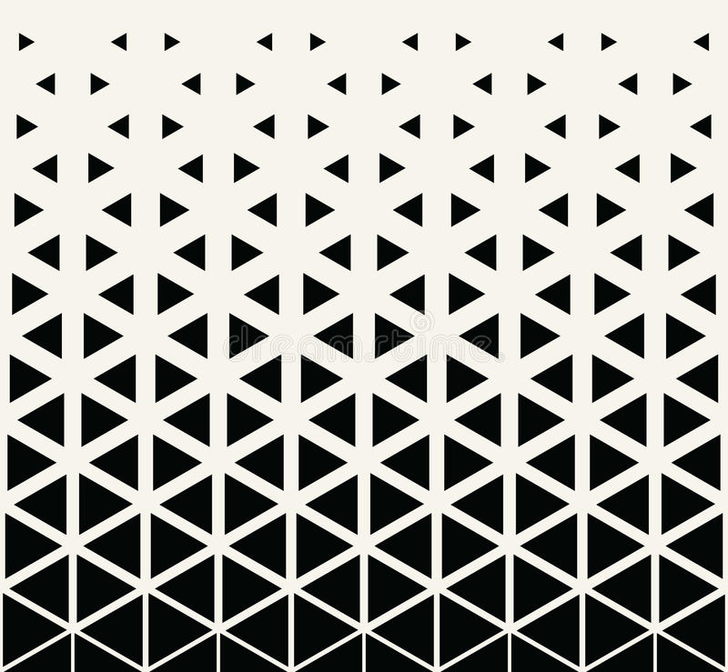 Abstract Geometric Black And White Graphic Design Print ...