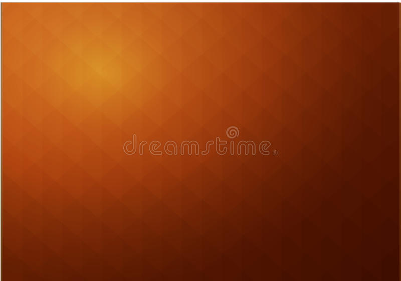 Abstract geometric brown background looks like stylized parchment texture royalty free illustration