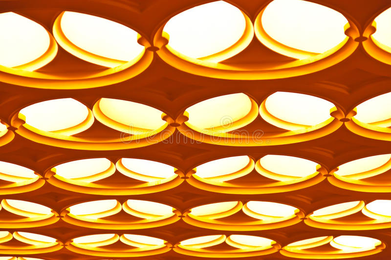Abstract Geometric Ceiling Royalty Free Stock Photos