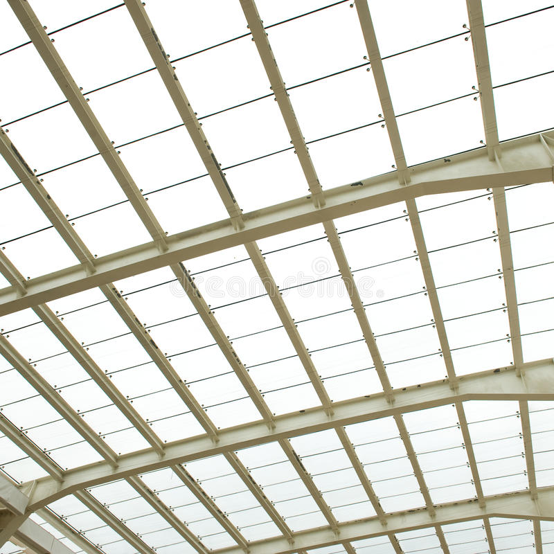 Abstract Geometric Ceiling Royalty Free Stock Photography