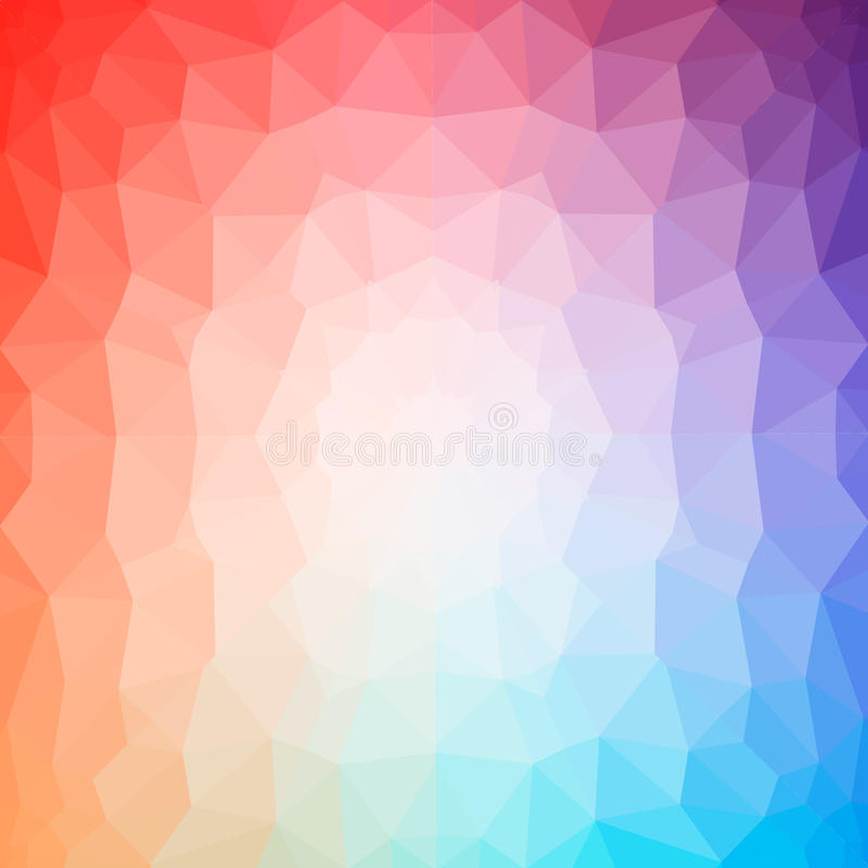 Abstract geometric colorful background. Triangle forms.Vector Illustration, Graphic Design Useful For Your Design stock illustration