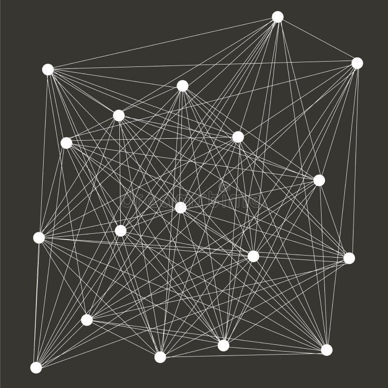 Abstract geometric designs vector illustration