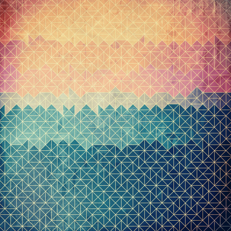 Abstract geometric grunge background vector illustration