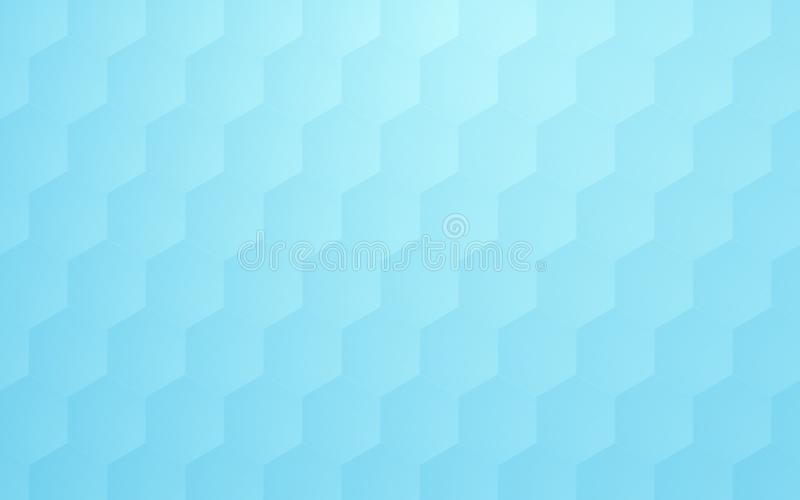 Abstract geometric hexagons pattern shape. Science concept background. royalty free illustration