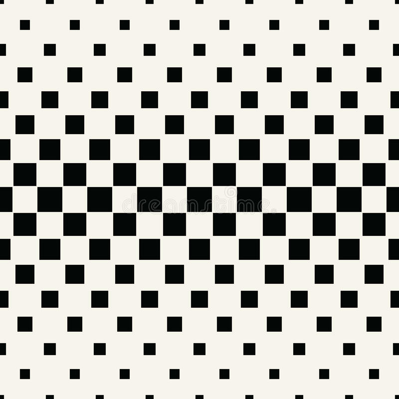 Abstract geometric hipster fashion halftone square pattern. Background stock illustration