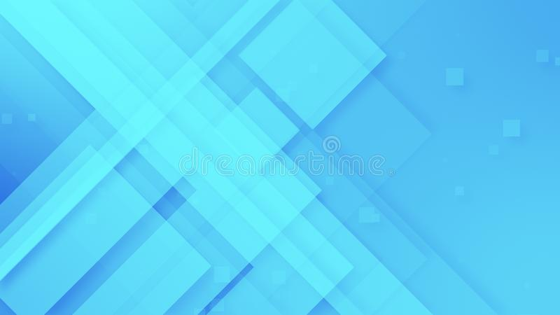 Abstract geometric light blue and silver grey motion background loop vector illustration