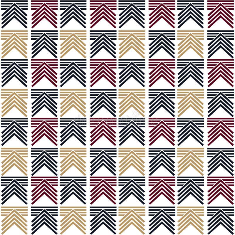 Abstract geometric lines graphic design chevron pattern vector illustration