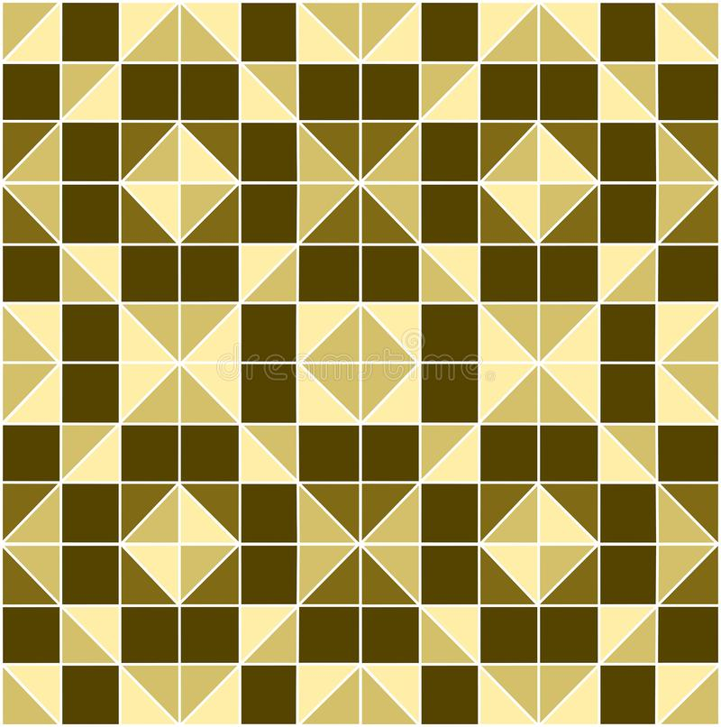 Abstract geometric mosaic background.Background from square and triangles royalty free stock images