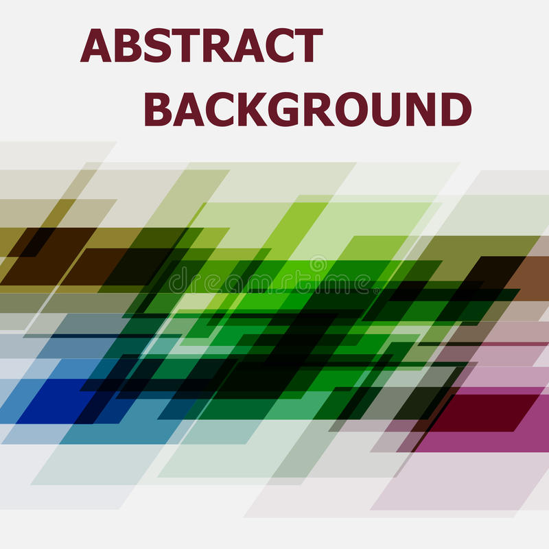 Abstract geometric overlapping design background. Stock vector vector illustration