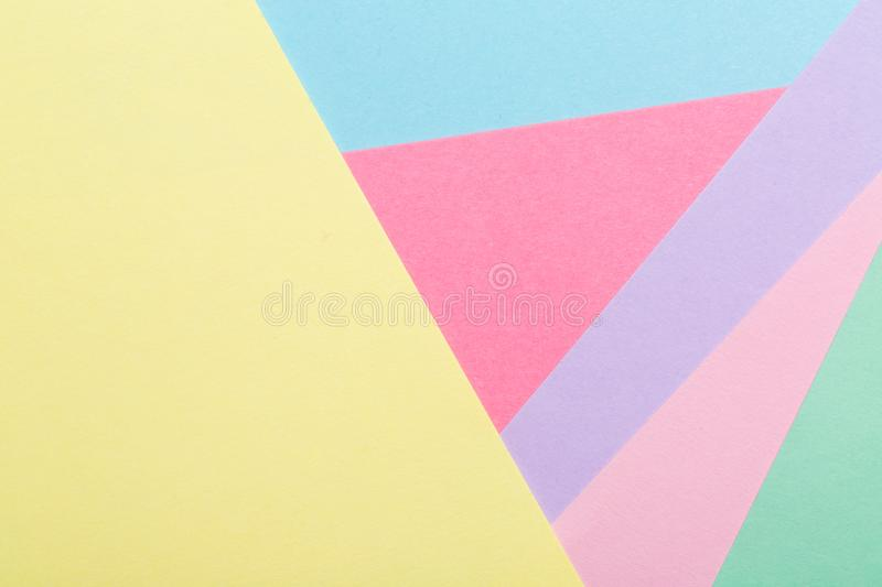 Abstract geometric pattern background stock image