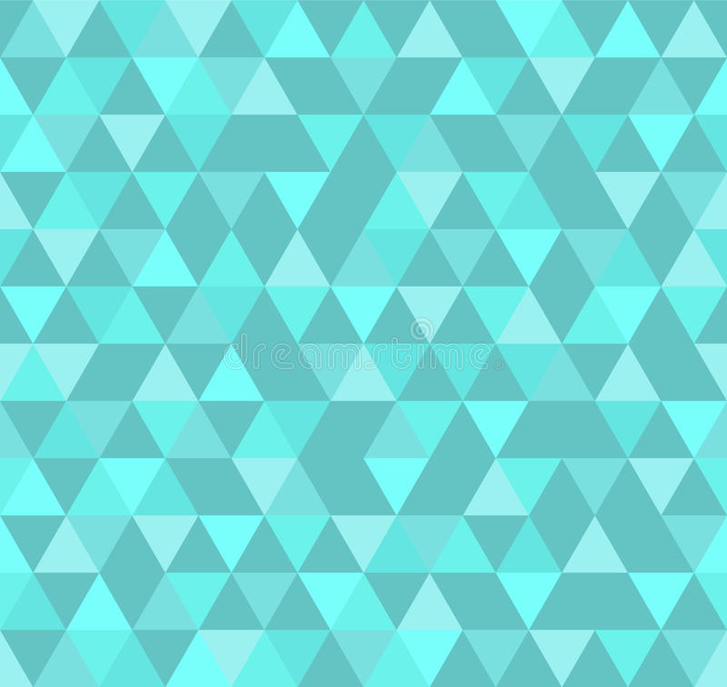 Abstract Geometric Pattern Background With Colorful Triangles royalty free illustration
