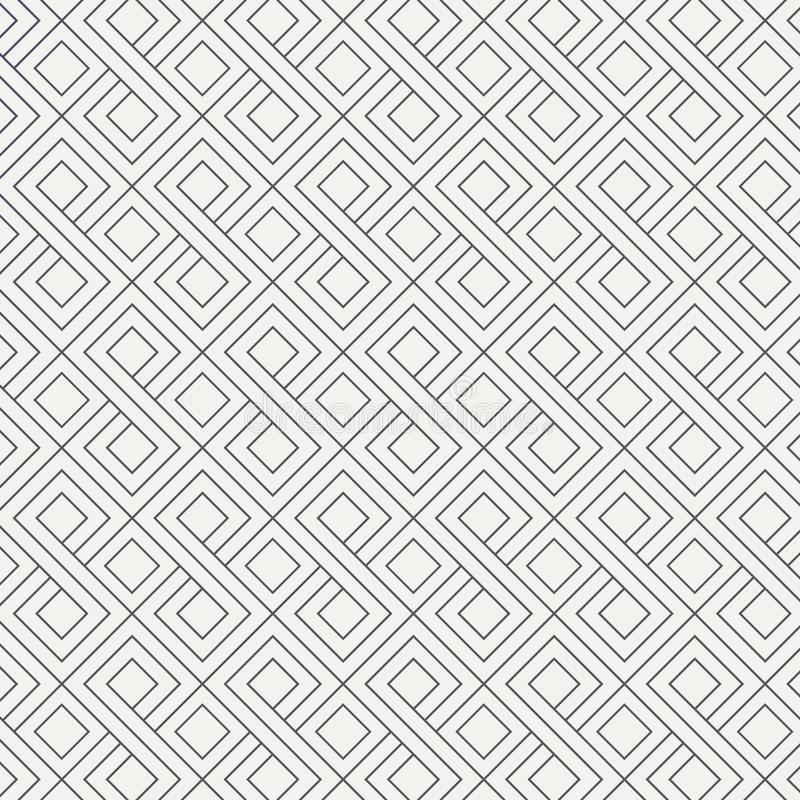 Abstract geometric pattern with lines, squares . graphic clean for wallpaper, fabric, background. Pattern is on swatches panel vector illustration