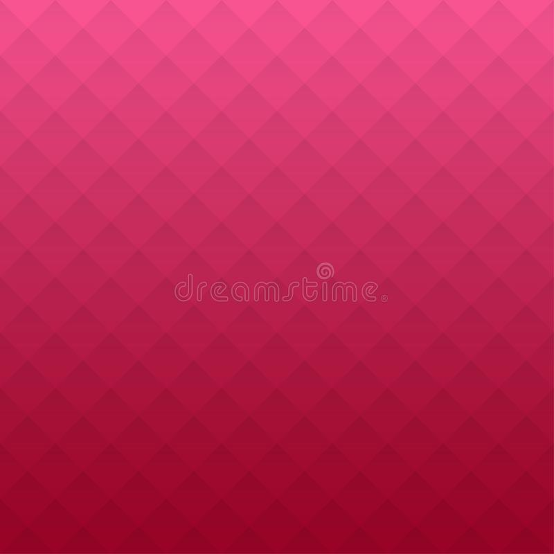 Abstract geometric pattern. Pink triangles background. Vector illustration eps 10. royalty free illustration