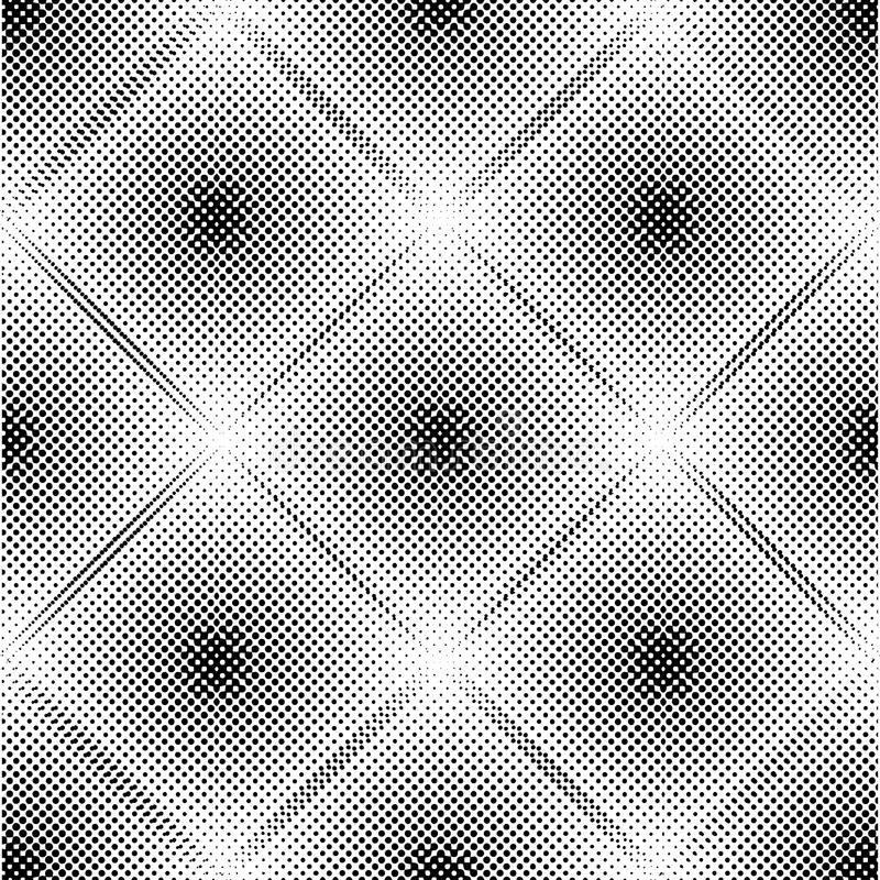Abstract geometric pattern with rhombuses. Repeating seamless vector background. Gray and white ornament. royalty free illustration