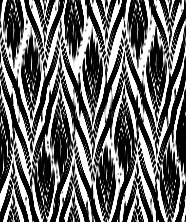 Abstract geometric pattern. Seamless line ornamental background vector illustration