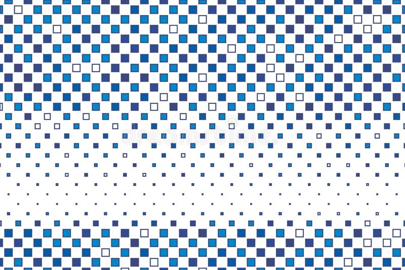 Abstract geometric pattern with small squares. Design element forposters, cards, wallpapers, backdrops, panels, covers, brochures. Abstract geometric pattern royalty free illustration