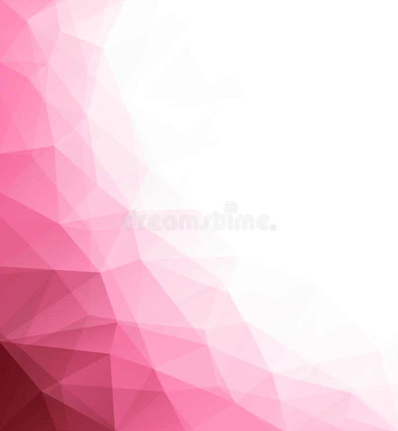 Abstract geometric polygonal background. Composed of triangles. Vector illustration vector illustration