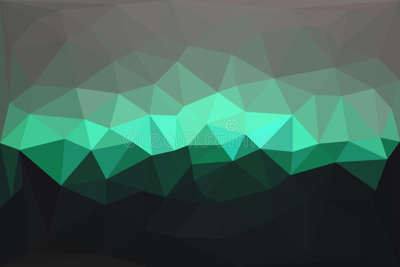 Abstract geometric polygonal background vector illustration