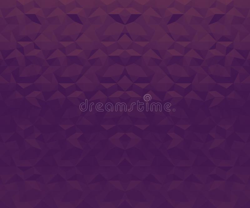 Abstract geometric purple lilac background. Geometric design, template for layout, web site, creative background of polygons,. Wallpaper. Edge, plane, the play royalty free stock photography
