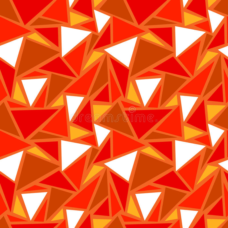 Abstract geometric seamless pattern. Background with triangles. Vector illustration royalty free illustration
