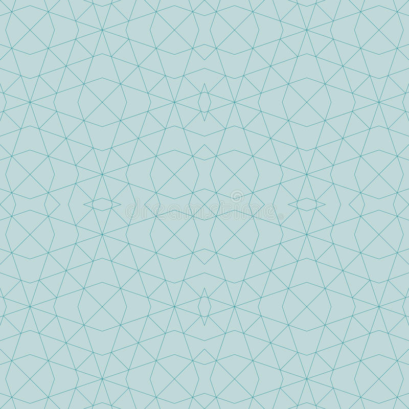 Abstract geometric seamless pattern by lines, diamonds. Vector i vector illustration
