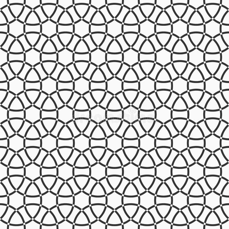 Abstract geometric seamless pattern. Stylish texture. Lattice ornament. Abstract geometric seamless pattern. Stylish texture. Background with intersecting royalty free illustration