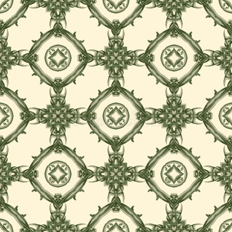 Abstract geometric repeating pattern in vector format vector illustration