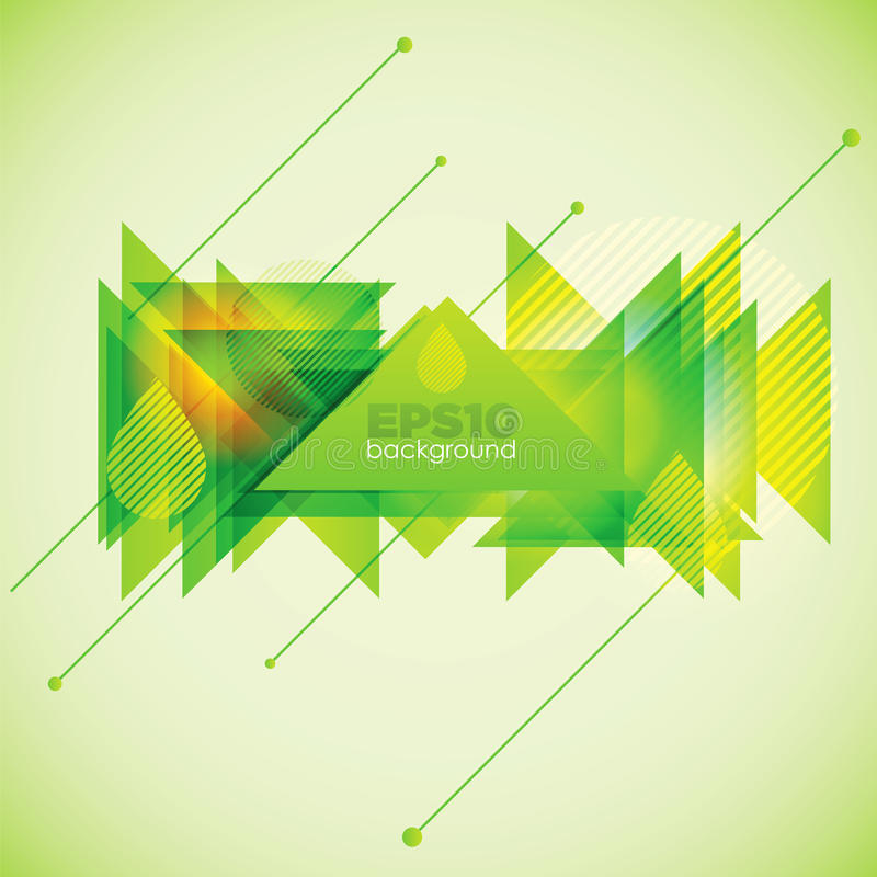 Download Abstract geometric shapes stock vector. Image of green - 23322640