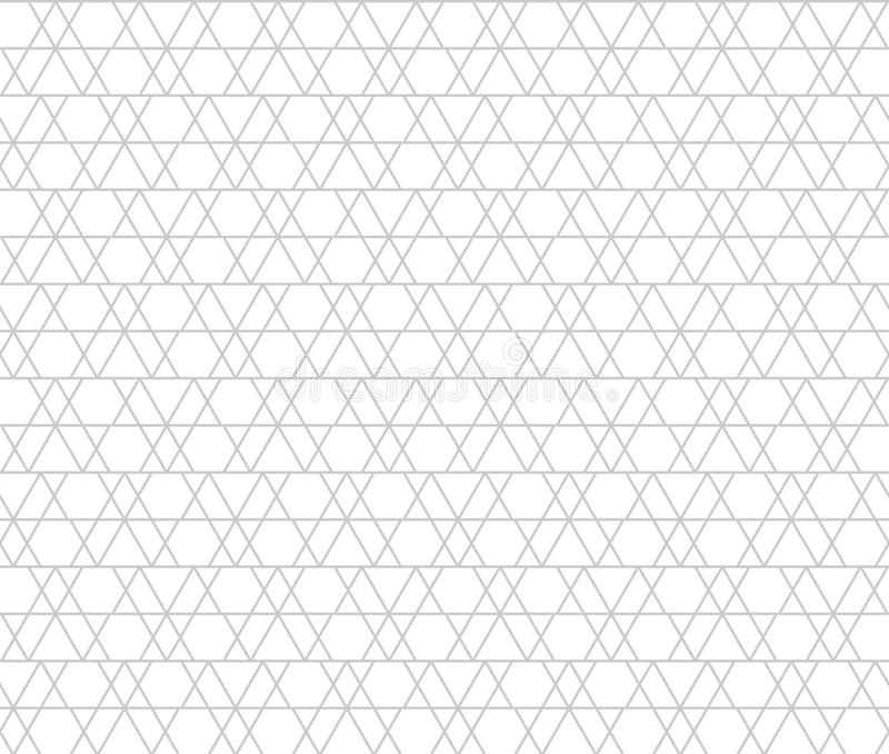 Abstract geometric shapes. gray triangles. seamless pattern. Abstract geometric shapes. gray triangles. vector seamless pattern. simple white background. textile royalty free illustration